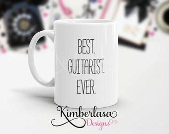best guitarist ever mug | guitarist mug | rock and roll mug | musician mug | best guitarist ever | gift for musician | band mug