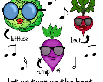 Let Us Turn Up The Beet with Veggies