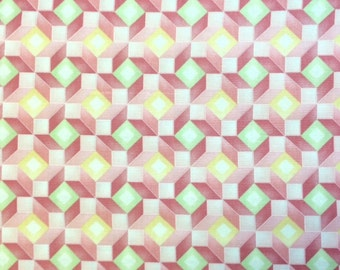 Red Rooster SARAH'S COLLECTION (Pink) 100% Cotton Premium Quality Quilt Fabric - sold by 1/2 yard