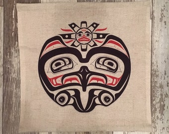 Eagle- Pacific Northwest Art-pillow cover