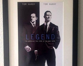 Legend movie poster - A4 print