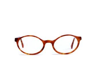 Tortoise shell Vintage Glasses Woman Eyewear Frames Brown