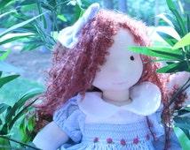 Bella, inspired Waldorf doll, handmade doll