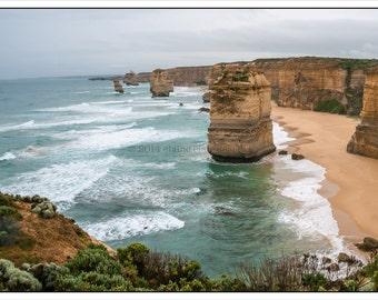 Wall Art, Home Decor, Nature, Photography, 12 Apostles, Great Ocean Road, Australia, Travel Photography, Wall Art, Beach, Ocean