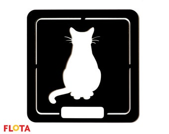 Pet sign for cats