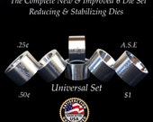 FREE Folding Cone SET with Master UNIVERSAL Reduction and Stabilizer Die Set to Fold and Make Coin Rings!