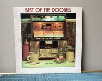 70s LP, Best of the Doobies, Doobie Brothers Greatest Hits Seventies Vintage Record Listen to the music