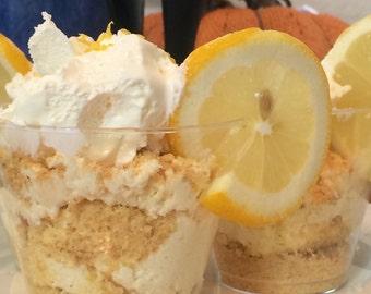 Lemon Cheesecake Parfait - No Bake