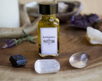 Protection Oil Elixir - Protection, Banishing Negativity