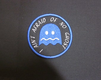 Ghost blue  Iron/sew on Patch