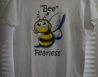 Adult Bee Fearless T-Shirt