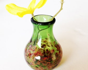 Green Bud Vase