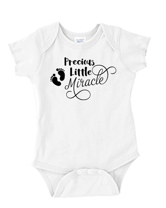 Precious Little Miracle - Baby Onesie