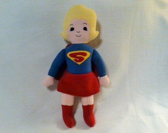 Super Dorable - Supergirl - plush action figure for girls