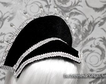 French Hood - Elizabethan Headdress, Renaissance