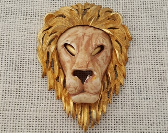 Razza Lion Pendant Statement Piece
