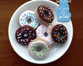 Mini Crocheted Donuts (Set 0f 6) #2