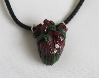 Natures heart pendant