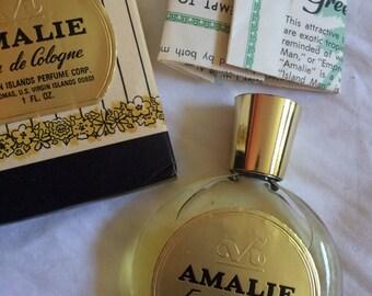 VINTAGE! Amalie: eau de cologne