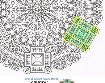 Mandala Coloring Page Lace Of Love Printable