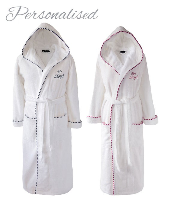 Personalised Mr And Mrs Dressing Gowns | Insured Fashion