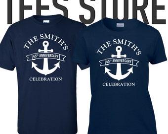 Anniversary shirts etsy