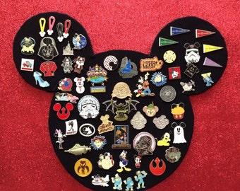 Mickey Mouse Disney Pin Board for Disney Pin Trading