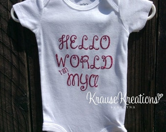Baby Onesie Personalized