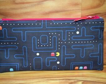 Pac-man Pencil Case Zipper Bag~ Ready to Ship!