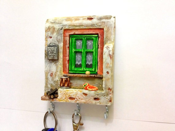 Key Holder Wall Miniature House