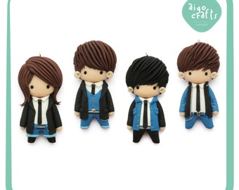 Kpop Polymer Clay CNBLUE Hey you Cell Phone Charm – Kpop Collection