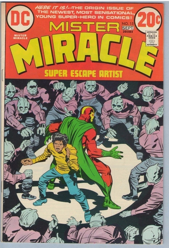 Mr. Miracle 15 Sep 1973 VF- (7.5)