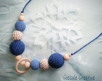 "lactating necklace ""winter magic"""