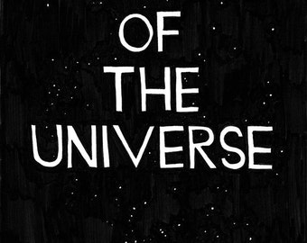 A Picture of the Universe (zine)