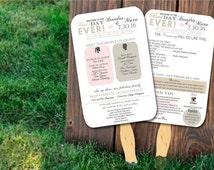 Popular Items For Wedding Fan On Etsy