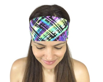 Yoga Headband Workout Headband Running Headband Wide Headband Fitness Headband No Slip Headband Fashion Headband Women Head Wrap S127
