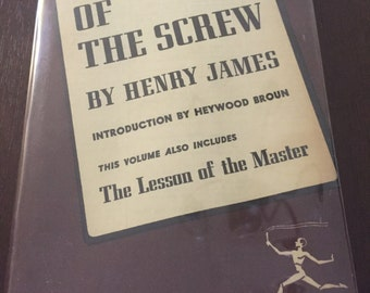 The Turn of the Screw by Henry James, vintage Modern Library edition