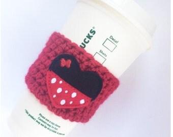Minnie Love // Coffee Cozy