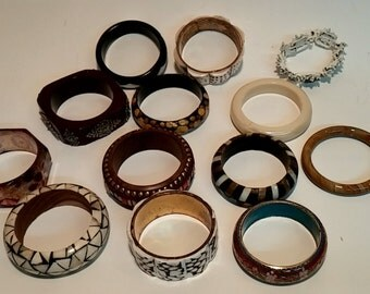 Collection of Vintage 1960's/1970's/1980's Womens Bracelets  - Deep Discount