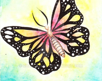 ORIGINAL Butterfly ACEO