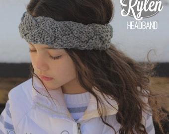 Rylen Headband (Crochet Pattern)
