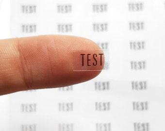 60 Test Stickers, Test Planner Stickers, School Stickers, Header Stickers, ECLP Stickers, Day Designer, Bullet Planner Stickers | C104