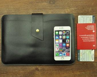 Laptop case, Leather laptop case, Macbook sleeve, Macbook case, laptop sleeve, Macbook Air case, Macbook Pro case, Macbook case 13 inch