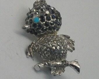 Vintage Bird Brooch- Marked 8066