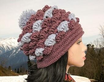 Crochet hats pattern Chunky crochet hat pattern Beanie hat pattern Beanie pattern Crochet beanie pattern Crochet pattern slouchy hat