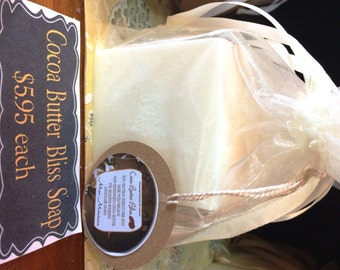 Cocoa Butter Bliss Soap 5oz