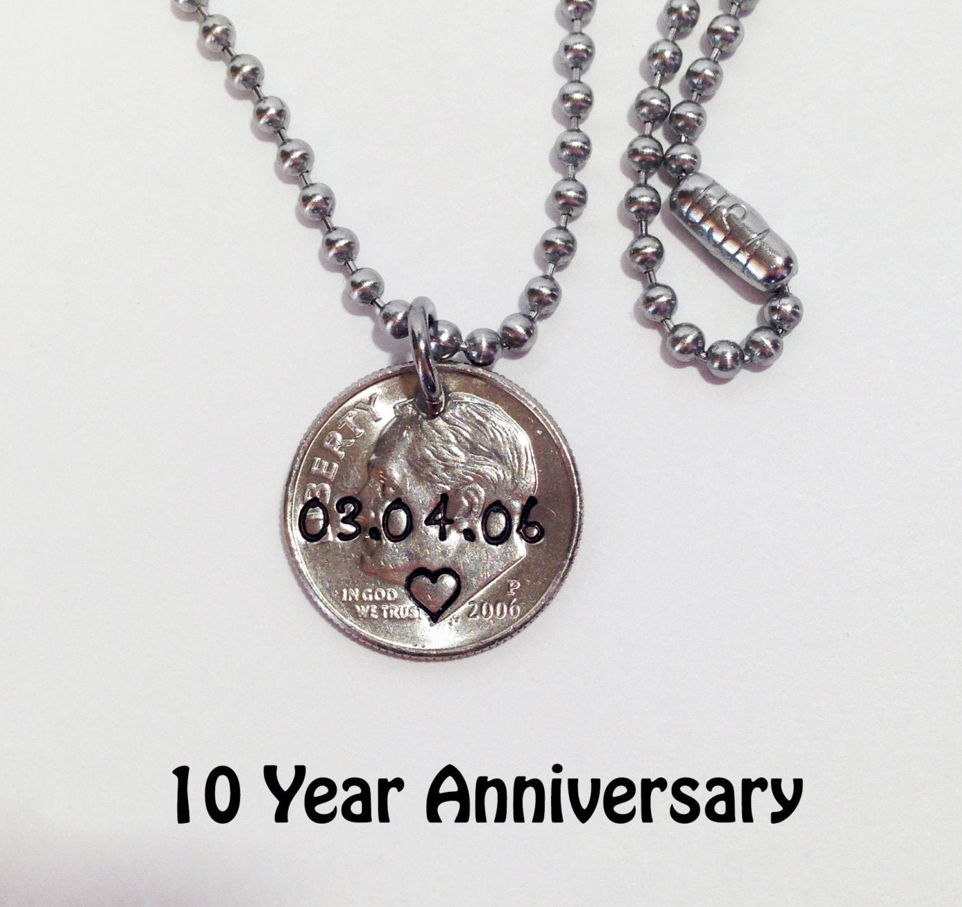 10th Anniversary Gift 10th Anniversary Gift For Him 10 Year