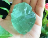 Green Fluorite Healing Crystals, Raw Stones Perfect for Crystal Grid, Jewelry Supply