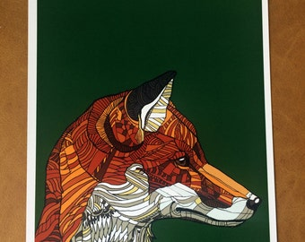 The Fox - A4 Print (Signed and Numbered)