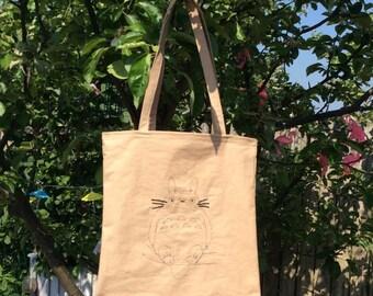 Studio Ghibli Totoro Market Shopping Bag